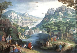painting representing the Old Testament Book of Hosea