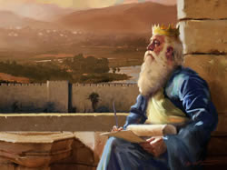 painting representing the Old Testament Book of Proverbs